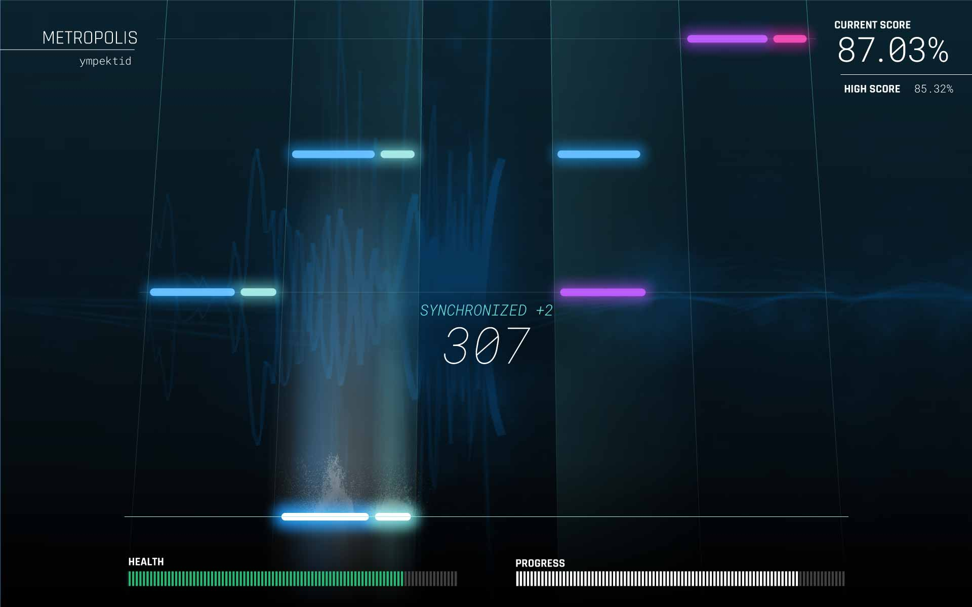 Sequence Storm game screen